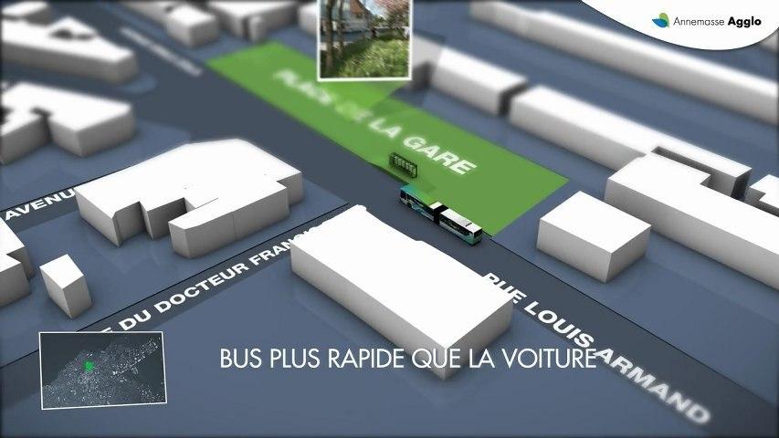 AGGLO ANNEMASSE - 2013 - 2017 - Les grands projets de transport  - by novamotion