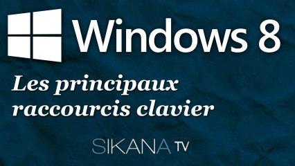 Les principaux raccoucis claviers sur Windows 8
