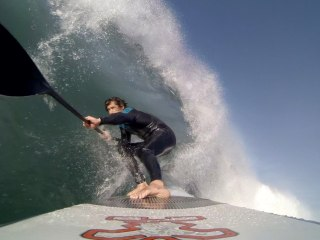 SUP in LA21. GoPro Hero3 Black Edition
