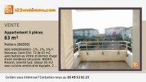 A vendre - appartement - Poitiers (86000) - 3 pièces - 63m