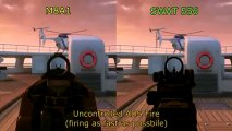 BLACK OPS 2 M8A1 vs SWAT 556