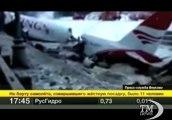 Mosca, aereo fuori pista: si spezza in due vicino autostrada. Le prime immagini dall'aeroporto Vnukovo