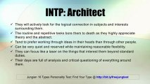 INTP: Architect -- Jung 16 Personality Types Test Results