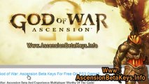Way To Get Free God of War: Ascension Multiplayer Beta Keys