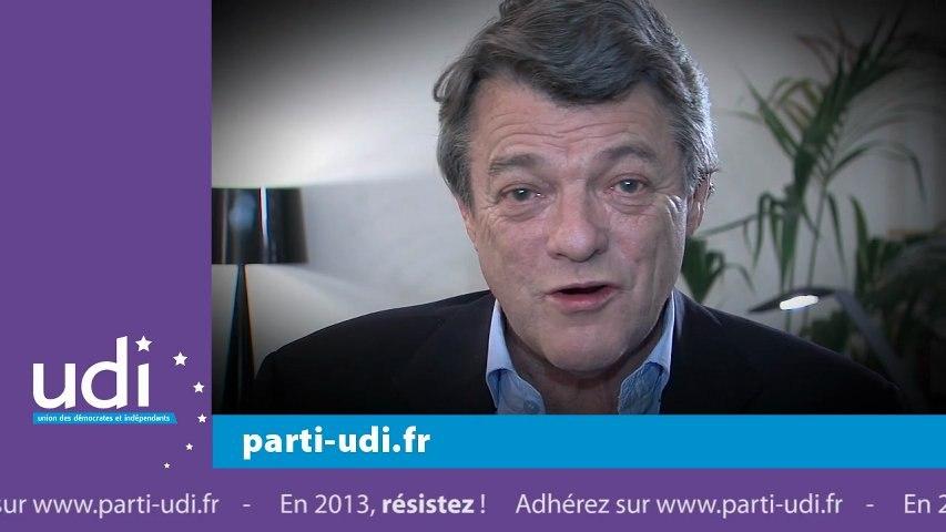 Les voeux de Jean-Louis Borloo - 2013