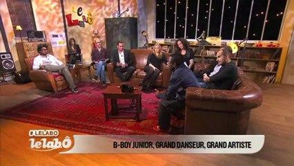 Demo B-Boy Junior on TV #lelabo #franceo !!! Amazing !!