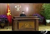 Nord Corea, storico discorso in tv di Kim Jong-un: pace col Sud. In 17 anni il padre non tenne mai un discorso in tv