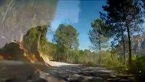 Corsica Road Trip Timelapse Chronophotographie sur les routes de corse du sud avec un gopro hero2