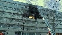 Gennevillers : les images de l'immeuble incendié