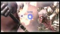 Asuras Wrath Asura VS Augus Sence