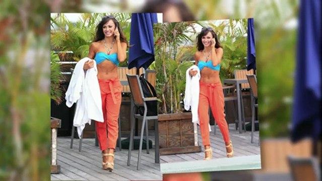 Karina Smirnoff im Bikini