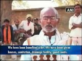 Villagers benefited by various government-sponsored schemes.mp4