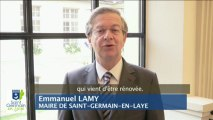 Voeux 2013 Emmanuel Lamy, Maire de Saint-Germain-en-Laye