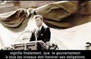 Discours Kennedy nouvel ordre mondial une semaine avant son assassinat