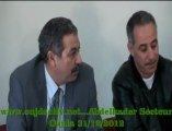 الكوميدي الجزائري عبد القادر السيكتور في مدينة وجدة قصد التبرع بالدم كهدية   ليلة رأس السنة  الميلادية 2013