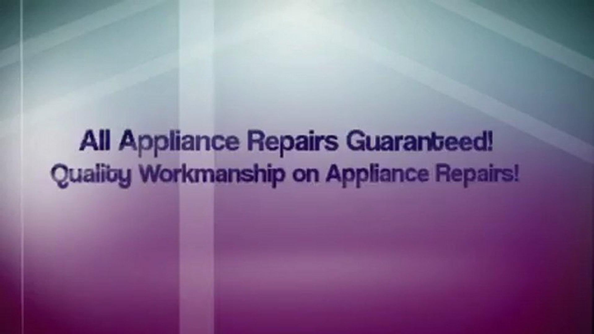 Appliance Repair San Francisco ca Call 415-689-8180