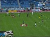 Qatar players made offside trap in Throw | لاعبي منتخب قطر مسوين مصيدة تسلل في رمية تماس !!!
