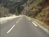 balade 2 de aups au lac de sainte croix (var) en moto