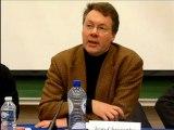 5-Intervention II Jean-Francois Defraigne (suite) - Conférence débat du Cercle du Libre Examen à l'Université libre de Bruxelles, le 30 nov 2012.