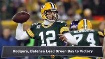 Packers Stymie Vikings in NFC Wild Card