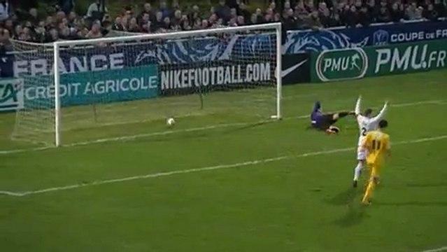 Coupe de France : Dieppe - Nantes, les trois premiers buts