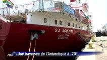 Aventure: une traversée de l'Antarctique à -70°