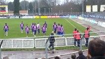 SAS Epinal - Olympique Lyonnais : entrainement des joueurs lyonnais