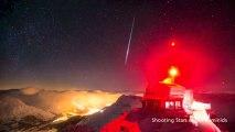 Réalisé à 3000 mètres d'altitude, ce time lapse nous offre une nuit glacée dans les Alpes