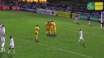 FC Dieppe - FC Nantes : Les buts en vidéo