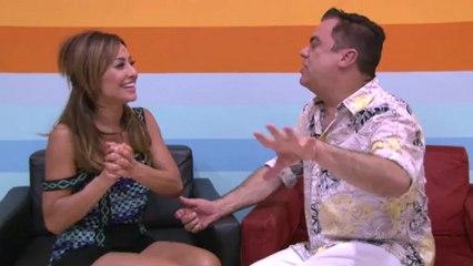 Marco Antônio de Biaggi entrevista Sabrina Sato
