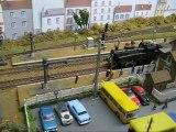 Trains miniatures : Réseau de Gérard : 131 TB ETAT avec rame ex-DR