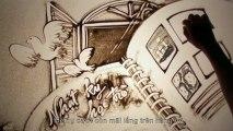Sand art Mong ước kỷ niệm xưa - Anh Vũ