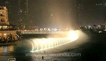 musical fountain in dubai city.flv