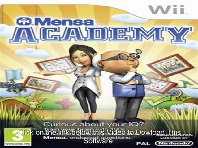 American Mensa Academy (SSMEYG) NTSC WII-WBFS
