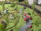 Trains miniatures : Réseau de Gérard : 131 TB Hornby et rame de wagons couverts
