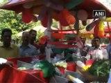 Gehlot Flags Off Modern Vegetable Selling Cycle Rikshaws.mp4