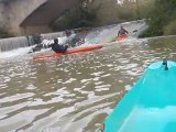 Kayak extrême dans le Gers
