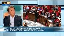"""Bernard Tapie : l'affaire Cahuzac """"ne vaut pas trois lignes"""""""