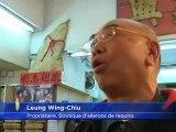 Production massive d'ailerons de requins à Hong Kong