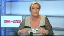 Marine Le Pen est l'invitée politique de Guillaume Durand