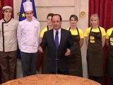 Zapping politique : Hollande se lâche à la galette de l'Elysée