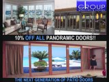 French Doors Exterior,Glass French Doors,Panoramic Doors,HGTV Todd Davis,Folding Doors San Diego,Custom French Doors,Folding Doors,French Patio Doors