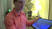 ASUS MB168 Featherlight USB3 Notebook Screen Expansion - Linus Tech Tips CES 2013