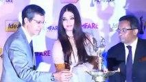 Aishwarya Rai Bachchan Unveils Filmfare Awards 2012 Trophy ! [HD]