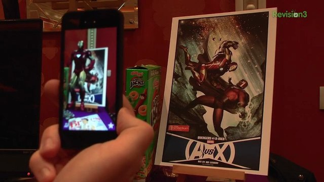 True Augmented Reality on Your Phone - CES 2013 - Nixie Pixel Geekbuzz