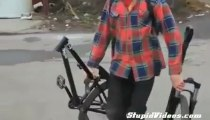 Bike Bails on Back Flip PeriKizi.Net