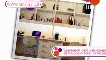 Alojamiento estudiantes Barcelona.  Residencias estudiantes Barcelona