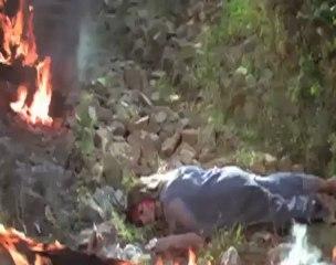 Thrilling Scene Simi Garewal Killing Rishi Kapoor Karz.mp4