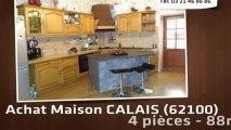 A vendre - maison - CALAIS (62100) - 4 pièces - 88m²