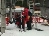 Mercredi neige ASPA Seichamps 9 janvier 2013 montée au téléski
